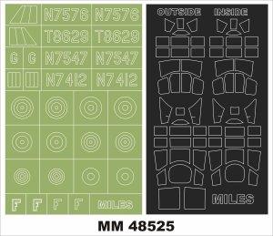 Montex MM48525 Miles Master Mk.I 1/48
