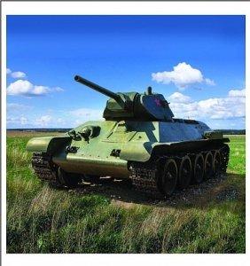 Zebrano 100-003 T-34 mod.1941 1:100