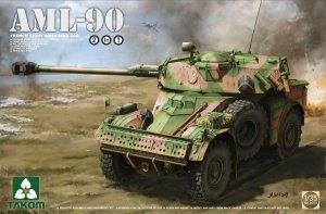 Takom 2077 French Light Armoured Car AML-90 1/35