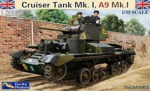 Gecko Models 35GM0003 Cruiser Tank Mk.I, A9 Mk.IA (1:35)
