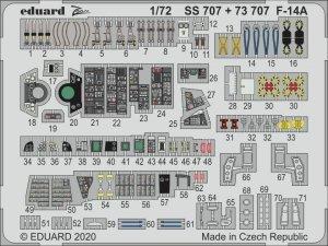 Eduard 73707 F-14A for Academy 1/72