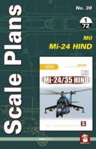 Stratus 81579 Scale Plans No. 39 Mil Mi-24 Hind