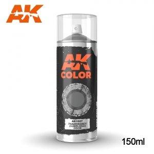 AK Interactive AK 1027 PANZERGREY DUNKEL GRAB COLOR SPRAY 150ml