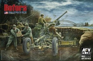 AFV Club 35163 40mm Bofors AA Automatic Gun M1 (1:35)
