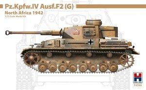 Hobby 2000 72702 Pz.Kpfw.IV Ausf.F2 (G) North Africa 1942 – DRAGON + CARTOGRAF 1/72