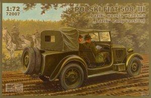 IBG 72007 Polish Fiat 508/III Łazik Early Version 1/72