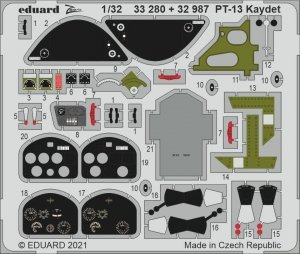 Eduard 32987 PT-13 Kaydet RODEN 1/32
