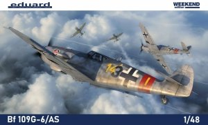 Eduard 84169 Bf 109G-6/AS weekend edition 1/48