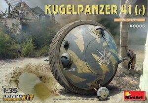 MiniArt 40006 Kugelpanzer 41( r ). INTERIOR KIT 1/35