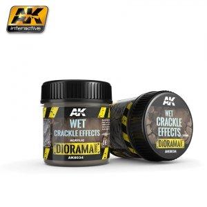 AK Interactive AK 8034 Wet Crackle Effects 100ML