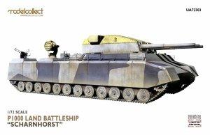 Modelcollect UA72303 German WWII P1000 Ratte Scharnhorst, 1945 1/72