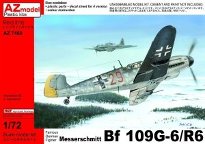 AZ Model AZ7460 Messerschmitt Bf 109G-6/R6 1/72