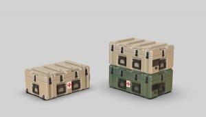 Eureka XXL E-070 Modern US Army PELICAN MEDCHEST4 Mobile Medical 1/35