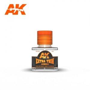 AK Interactive AK 12002 EXTRA THIN CEMENT 40ml