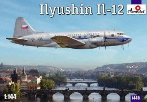 A-model 01445 Il-12 Czech Version (1:144)