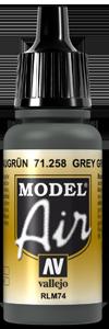 Vallejo 71258 Grey Green RLM74