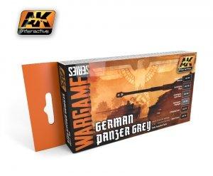 AK Interactive AK 1160 german panzer grey set (wargame series)