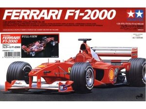 Tamiya 20048 Ferrari F1-2000 (1:20)