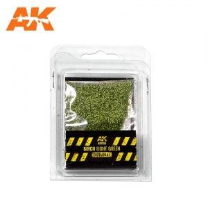 AK Interactive AK 8155 BIRCH LIGHT GREEN LEAVES 28MM  1/72