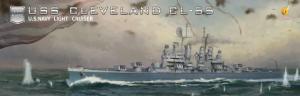 Very Fire VF350920 USS Cleveland CL-55 1/350
