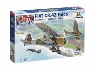 Italeri 1437 FIAT CR.42 FALCO Battle of Britain 80th Anniversary 1/72