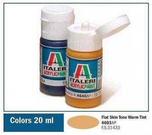 Italeri 4603 FLAT SKIN TONE WARM TINT 20ml