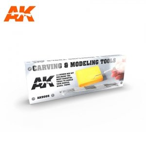 AK Interactive AK 9005 CARVING TOOLS DELUXE BOX