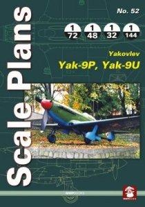 Stratus 58013 Scale Plans No. 52 Yakovlev Yak-9P/Yak-9U