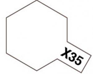 Tamiya X35 Semi Gloss Clear (81535) Acrylic paint 10ml