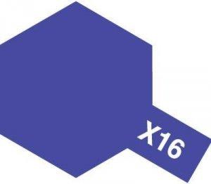 Tamiya X-16 Purple (81516) Acrylic paint 10ml