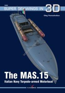 Kagero 16082 The MAS.15 Italian Navy Torpedo-armed Motorboat EN