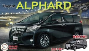 Fujimi 066073 CAR NEXT Toyota Alphard GF3.5L (Black) 1/24