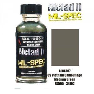 Alclad II ALC E307 US Vietnam Camouflage Medium FS595-34102 30Ml