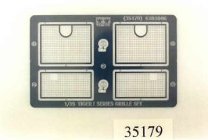 Tamiya 35179 Tiger I Etched Grille Set 1/35