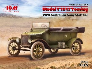 ICM 35667  Model T 1917 Touring, WWI Australian Army Staff Car 1/35