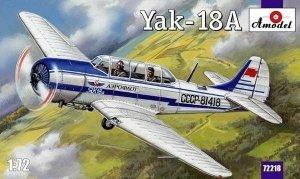 A-Model 72218 Yakovlev Yak-18 1/72