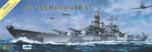 Very Fire VF350913DX USS Montana BB-67 Deluxe Version 1/350