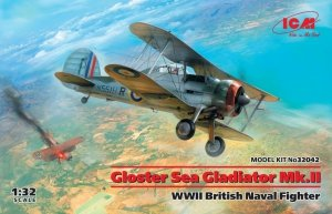ICM 32042 Gloster Sea Gladiator Mk.II WWII British Naval Fighter 1/32
