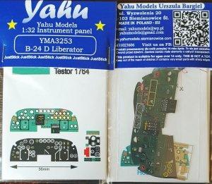 Yahu YMA3253 B-24 D Liberator for Hobby Boss 1/32
