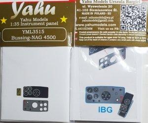 Yahu YML3515 Bussing-NAG 4500 IBG 1/35