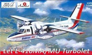 A-Model 01467-2 Let L-410MA/MU Turbolet 1:144