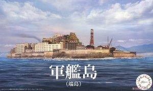 Fujimi 401454 NWC-99 Gunkanjima (Hashima Island) 1/3000
