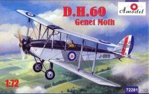A-Model 72281 D.H.60 Genet Moth 1:72