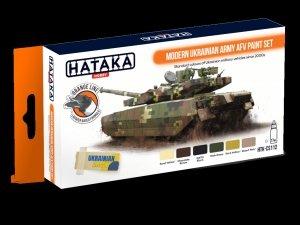 Hataka HTK-CS112 Modern Ukrainian Army AFV paint set  (6x17ml)