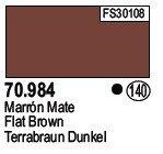 Vallejo 70984 Flat Brown (140)