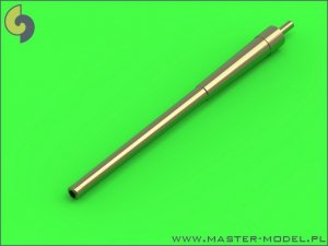 Master SM-700-050 USN 14in/50 (35,6 cm) gun barrels - for turrets without blastbags (12pcs) - New Mexico (BB-40) and Tennessee (BB-43) classes 1:700