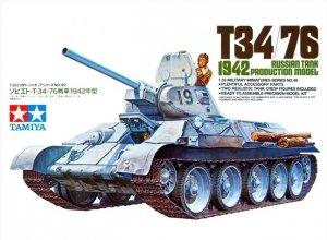 Tamiya 35049 Russian Tank T34/76 1942 1/35
