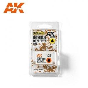 AK Interactive AK 8109 Universal Dry Leaves (TOP QUALITY) 1/35