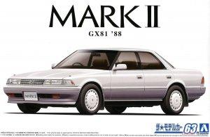 Aoshima 05924 Toyota MARK II GX81 88 1/24