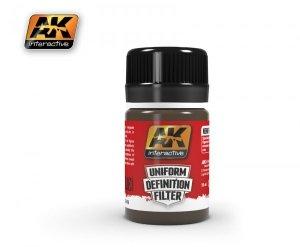 AK Interactive AK 3018 BROWN GLAZE 35ml